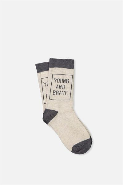 Fashion Kooky Socks, YOUNG AND BRAVE