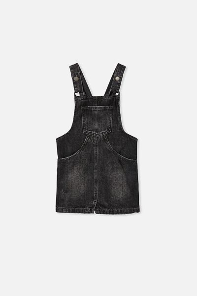 Shiloh Denim Skirtall, BLACK WASH