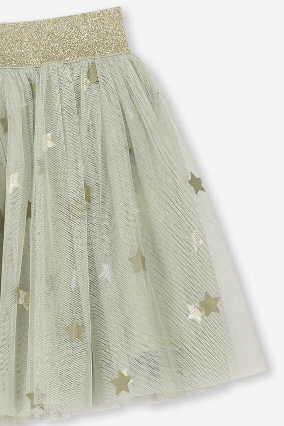 Trixiebelle Tulle Skirt, DESERT SAGE STARS