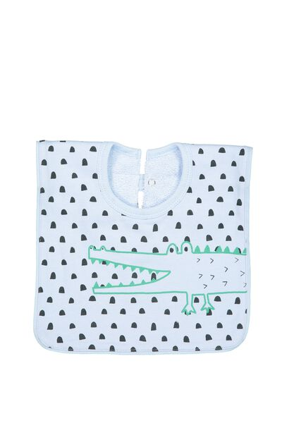 Hansel And Gretel Babies Bib, CROC YARDAGE/CROC