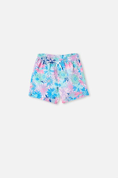 Kip & Co Bailey Boardshort, LCN KIP PETAL POWER
