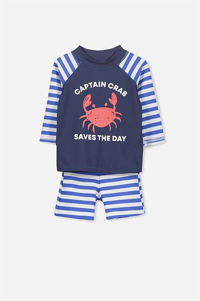Bondi Set, WASHED NAVY/CAPTAIN CRAB