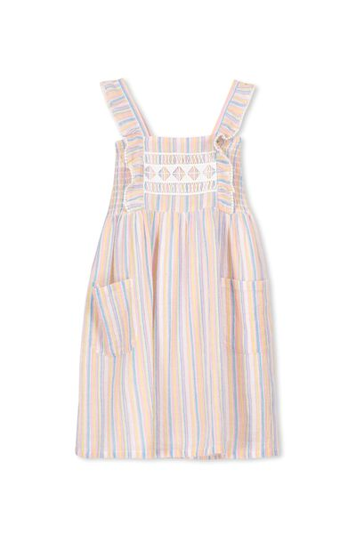 Dixie Dress, CANDY STRIPE