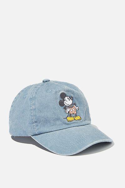 Licensed Baseball Cap, LCN DUSTY BLUE MICKEY