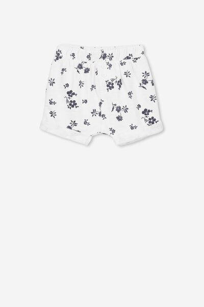 Sidney Short, WHITE/NAVY SWEET FLORAL