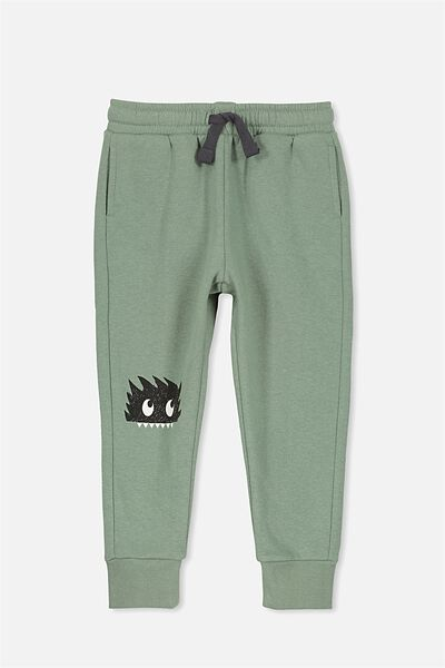 Lewis Trackpant, SOFT KHAKI/MONSTER