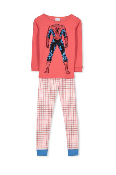Dan Long Sleeve Boys PJs, I AM SPIDERMAN