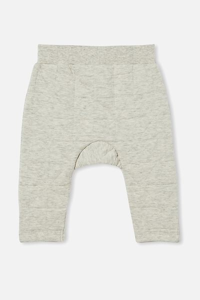 Emerson Quilted Trackpant, CLOUD MARLE