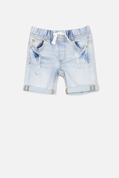 Joey Denim Short, WASHED RIVER BLUE