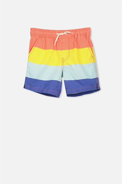 Murphy Swim Short, RETRO SPLICE