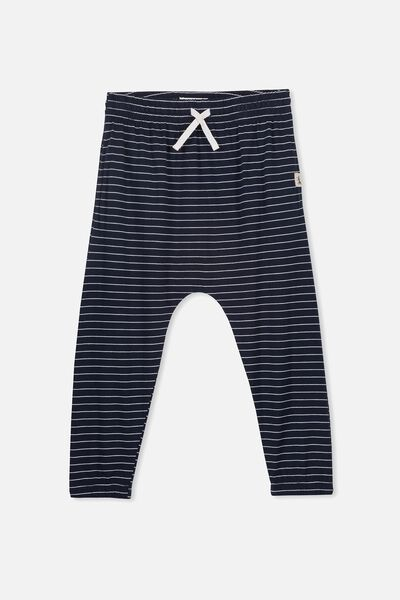 Lexi Pant, INDIAN INK/DARK VANILLA STRIPE