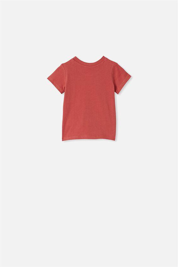 Jamie Short Sleeve Tee, RED BRICKS COOL YOUR JETS
