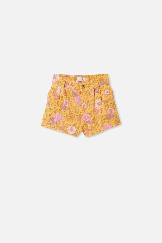 Cassidy Short, PAPAYA RETRO FLORAL
