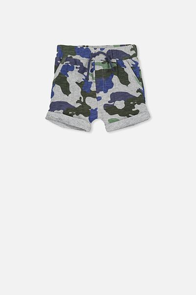 George Short, LIGHT GREY MARLE/CAMO