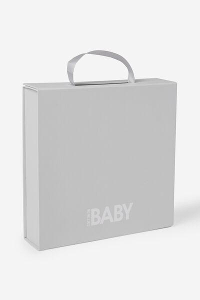Baby Gift Packing, WHITE