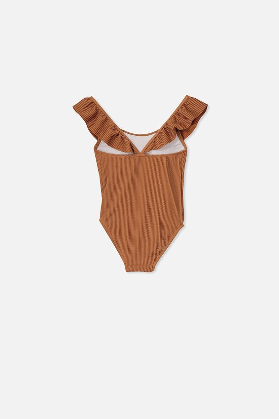 Frankie Frill One Piece, AMBER BROWN