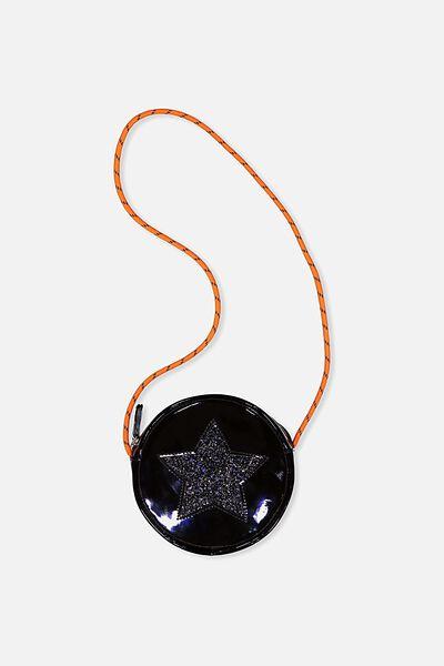 Nina Round Party Bag, BLACK STAR