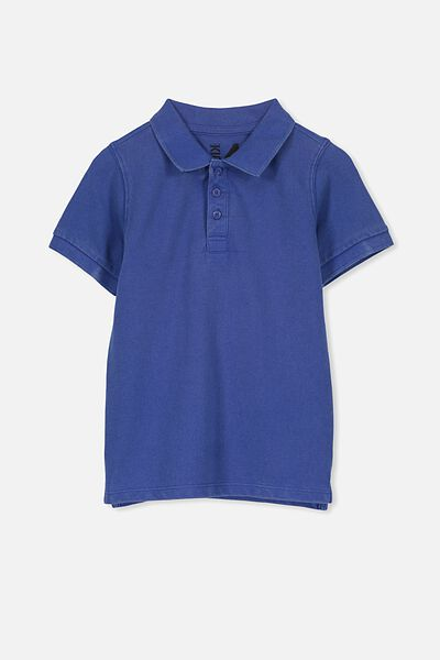 Kenny3 Polo, SCUBA BLUE WASH