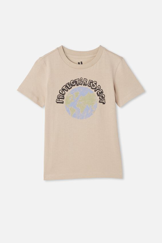 Tom Long Sleeve Tee, RAINY DAY/PROTECT AND RESPECT