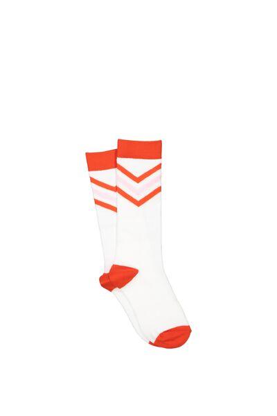 Fashion Kooky Socks, SCARLETT STRIPES