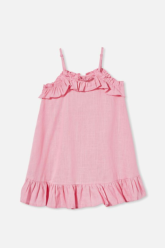 Libby Sleeveless Dress, CALI PINK