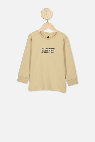 Tom Ls Tee, SEMOLINA/I GOT IT FROM MY MAMA