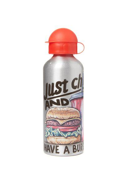 Aluminium Drink Bottle, BURGER