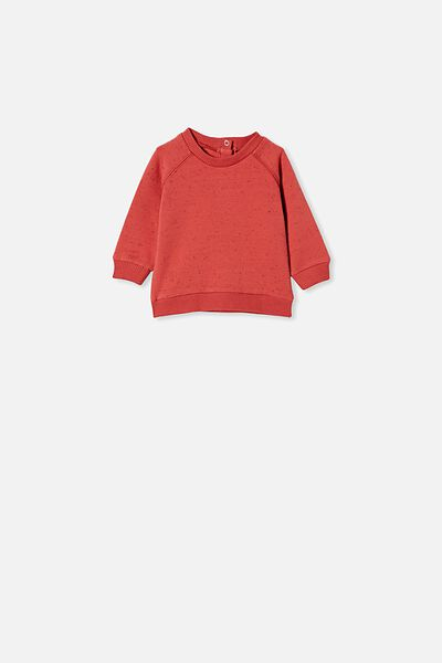 Harley Sweater, RED BRICK