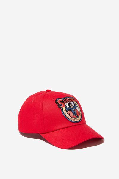 Licensed Baseball Cap, SUPERMAN