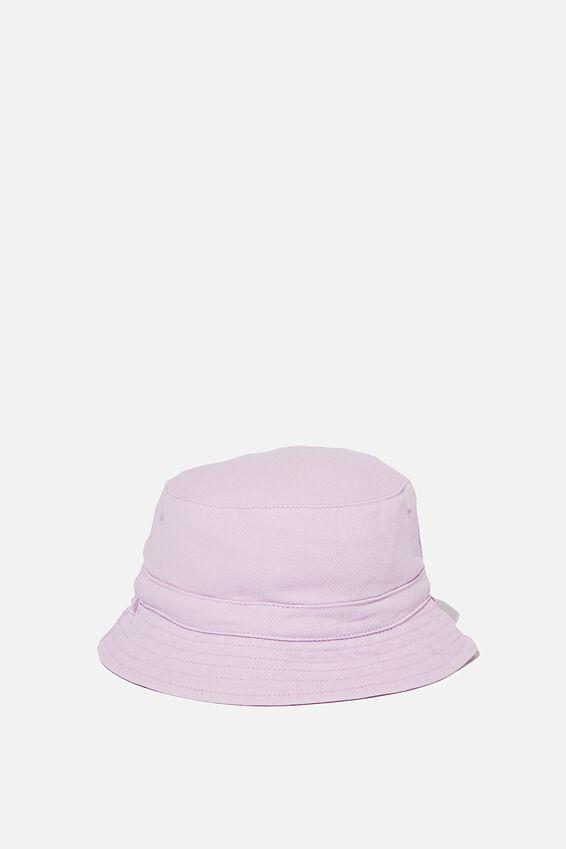 Reversible Bucket Hat, LILAC UNICORN