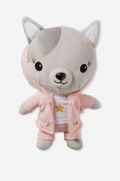 30Cm Medium Plush Toy, AVA ROCKSTAR