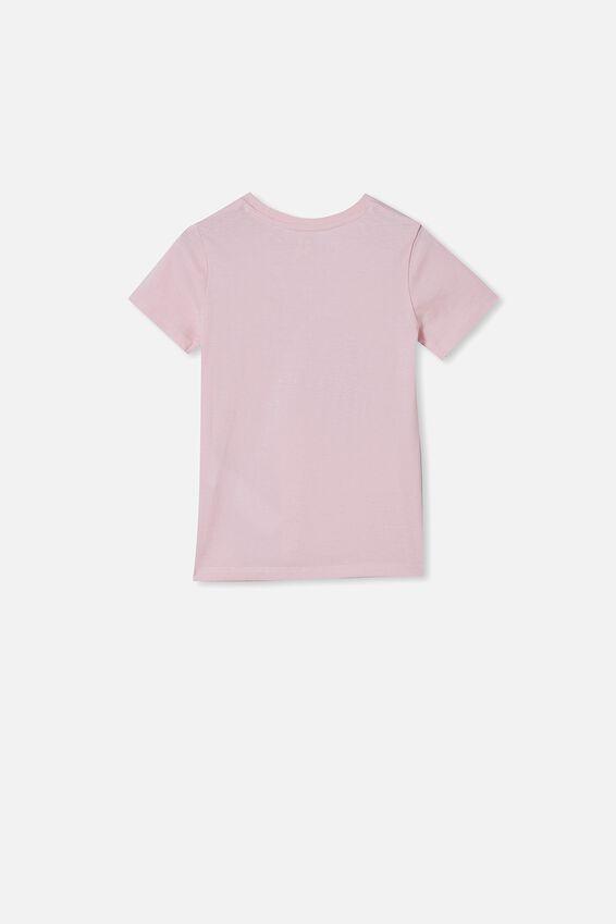 Penelope Short Sleeve Tee, PINK QUARTZ/FUTURE IS BEAUTIFUL
