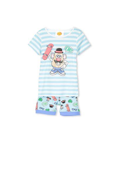 Joshua Boys Short Sleeve Pyjama Set, MR POTATO HEAD