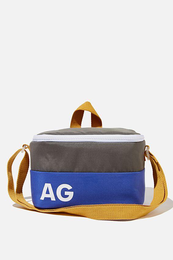 Kids Lunch Bag - Personalised, KHAKI BROWN