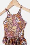 Lucinda Ruffle Swimsuit, RABBIT GREY/FLORAL FIELDS