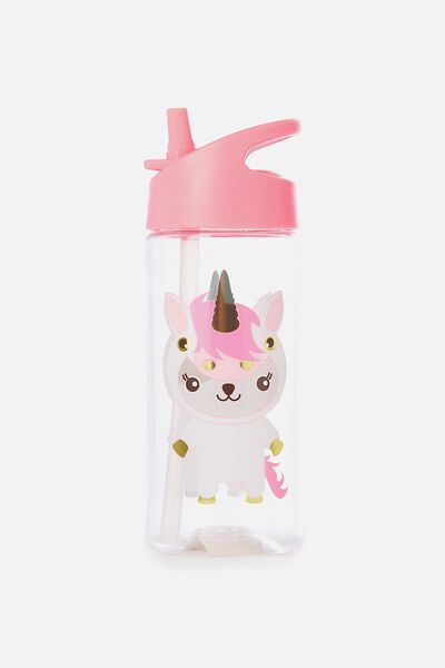 Sunny Buddy Sipper Drink Bottle, AVA UNICORN