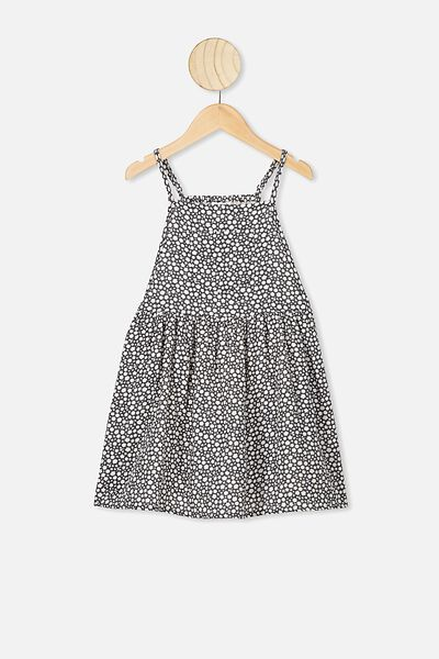 Nicolette Sleeveless Dress, PHANTOM/DITSY FLORAL