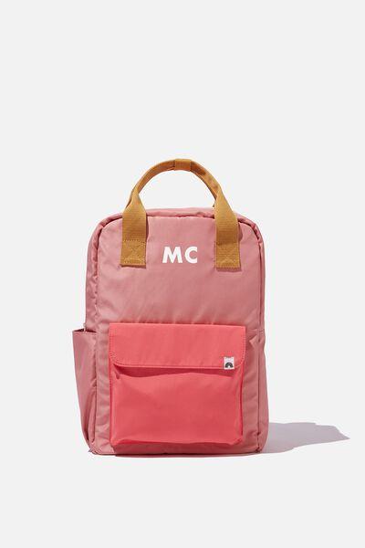 Back To School Backpack Personalised, PINK