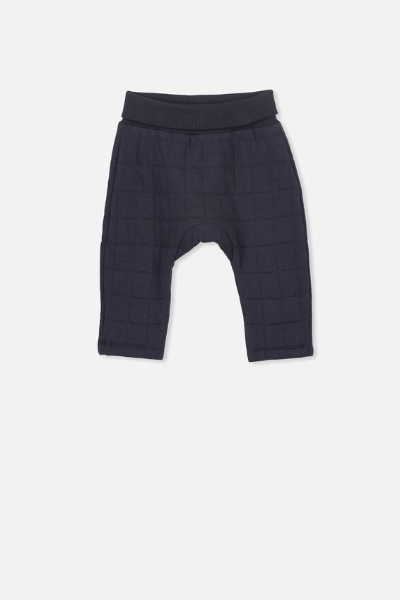 Rory Quilted Trackpant, INDIAN INK