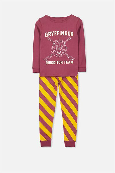 Harry Long Sleeve Boys PJ Set, LCN HARRY POTTER GRYFFINDOR