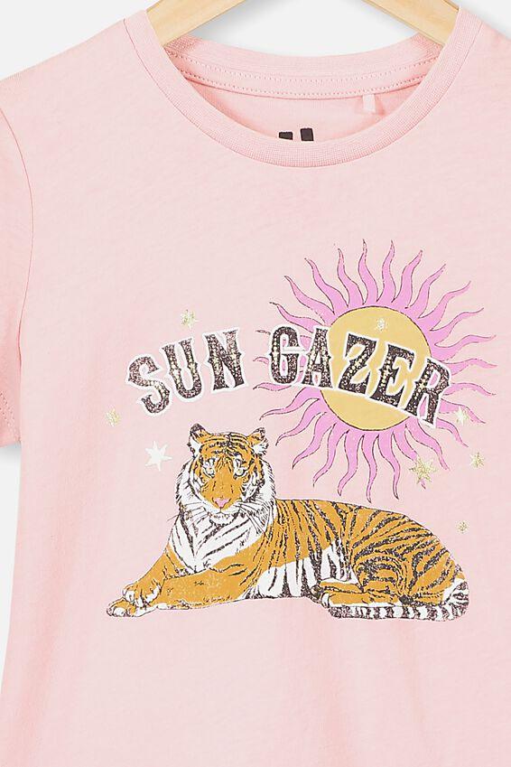 Penelope Short Sleeve Tee, MARSHMALLOW/SUN GAZER TIGER/MAX