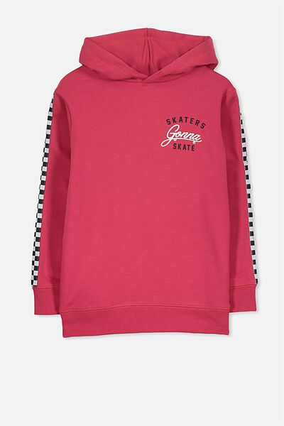 Liam Hoodie, RIVER RED/SKATERS GONNA SKATE