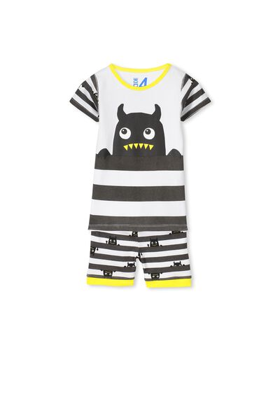 Joshua Ss Boys Pj Set, PEEK-A-BOO MONSTER