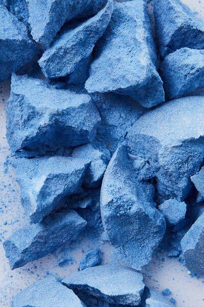 Bath Fizzy, SHIMMER BRIGHT BLUE