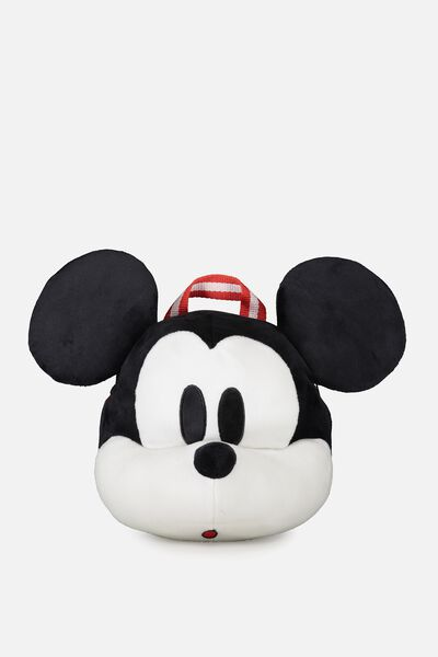 Plush Animal Backpack, MICKEY