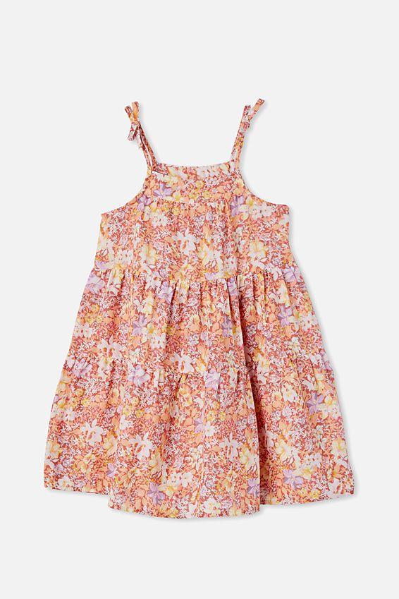 Hope Sleeveless Dress, COASTAL FLORAL