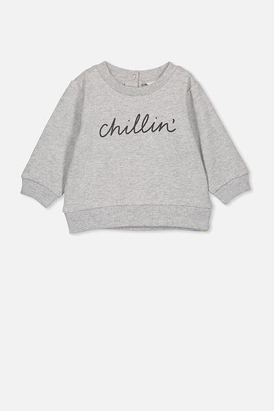 Billie Sweater, CLOUD MARLE/CHILLIN