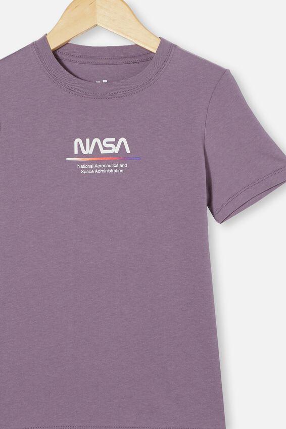 Co-Lab Short Sleeve Tee, LCN NAS DUSK PURPLE / NASA