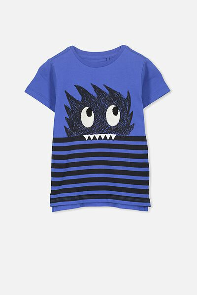 Max Short Sleeve Tee, SCUBA MONSTER/SIS