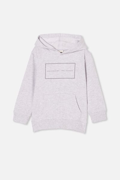 Milo Hoodie, WHITE MARLE/NEVERMIND THE CHAOS